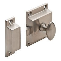 Hafele Hardware - Cabinet Latch - Cabinet Latch in Satin Nickel